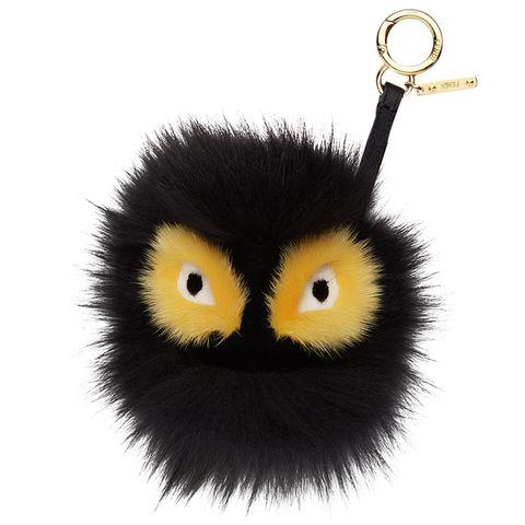 "<p><em>Fendi keychain, $900,<a href=""https://shop.harpersbazaar.com/designers/fendi/monster-fur-keychain/"" target=""_blank"">shopBAZAAR.com</a>.</em></p>"