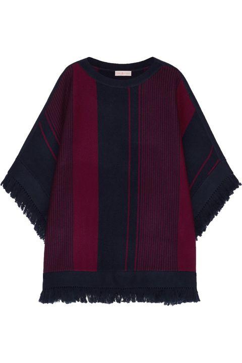 "<p><em>Tory Burch sweater, $595, </em><a href=""http://www.toryburch.com/clothing/sweaters/"" target=""_blank"">toryburch.com</a>. </p>"
