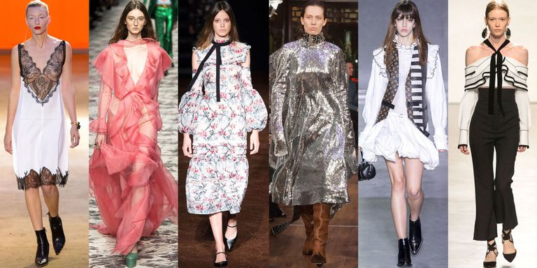 A Step Away From Minimalism Means Runways With High Impact Trends
