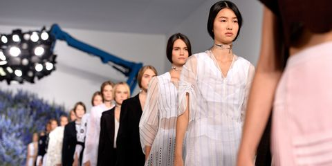 Suit, Dress, Fashion, Fashion model, Hair accessory, Fashion show, Fashion design, Headpiece, Haute couture, Makeover,