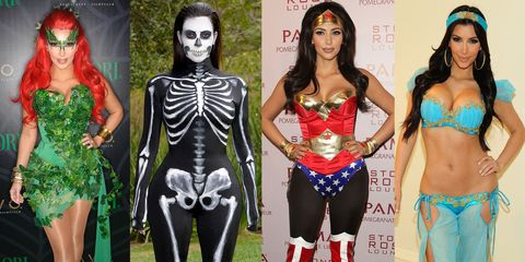 Kim Kardashian Reveals Her Favorite Halloween Costume