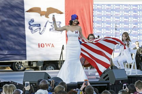 Katy Perry Joins Hillary Clinton on the Campaign Trail