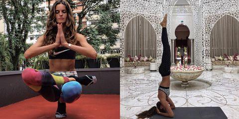 Izabel Goulart's Most Inspiring Fitness Instagrams