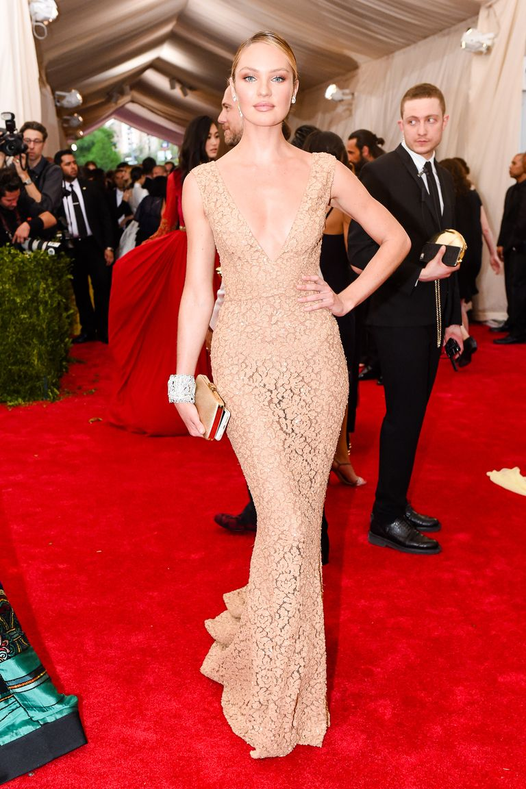 Candice Swanepoel Sexiest Red Carpet Looks Victoria S