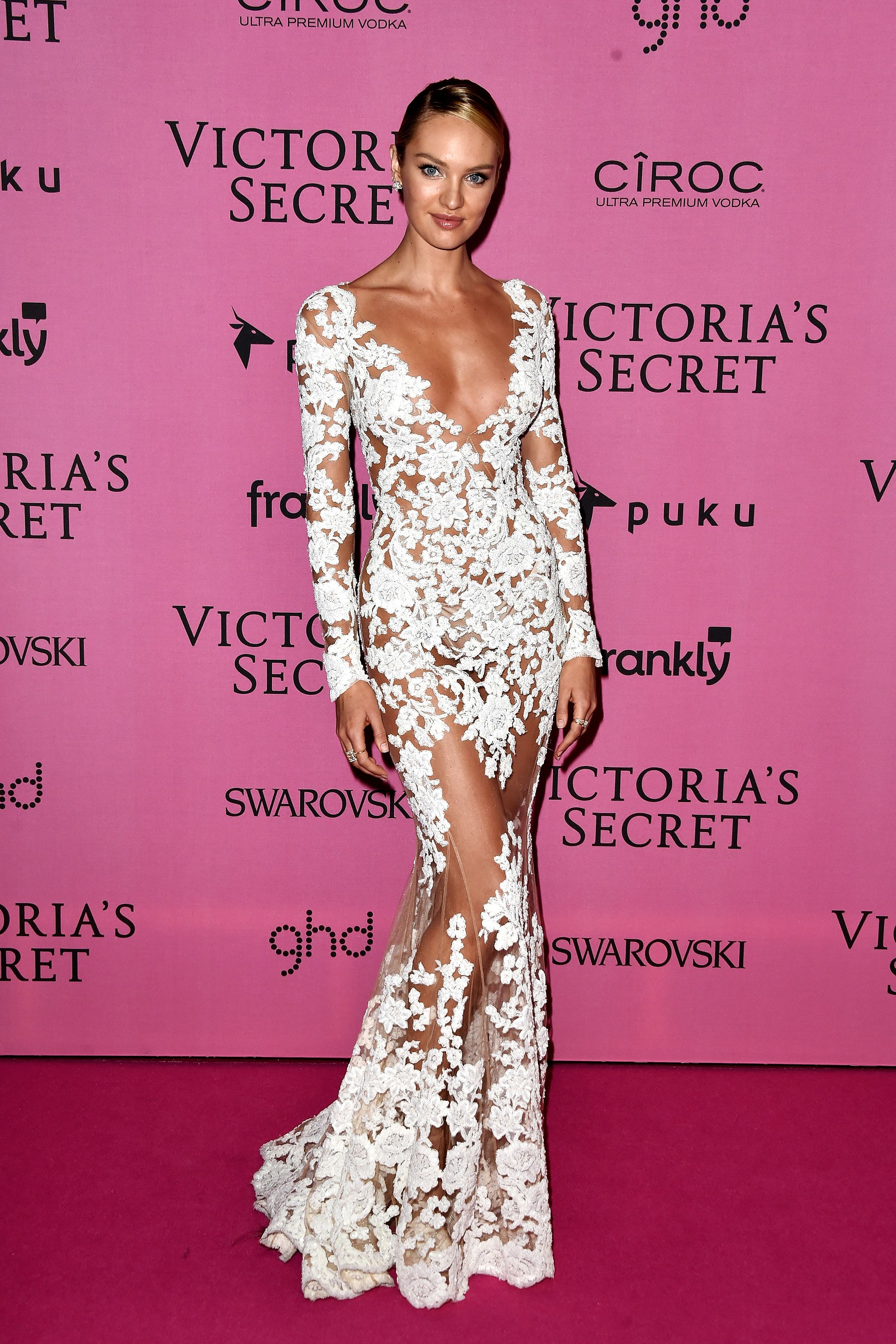Candice Swanepoel Sexiest Red Carpet Looks - Victoria's Secret Angel Candice Swanepoel Style