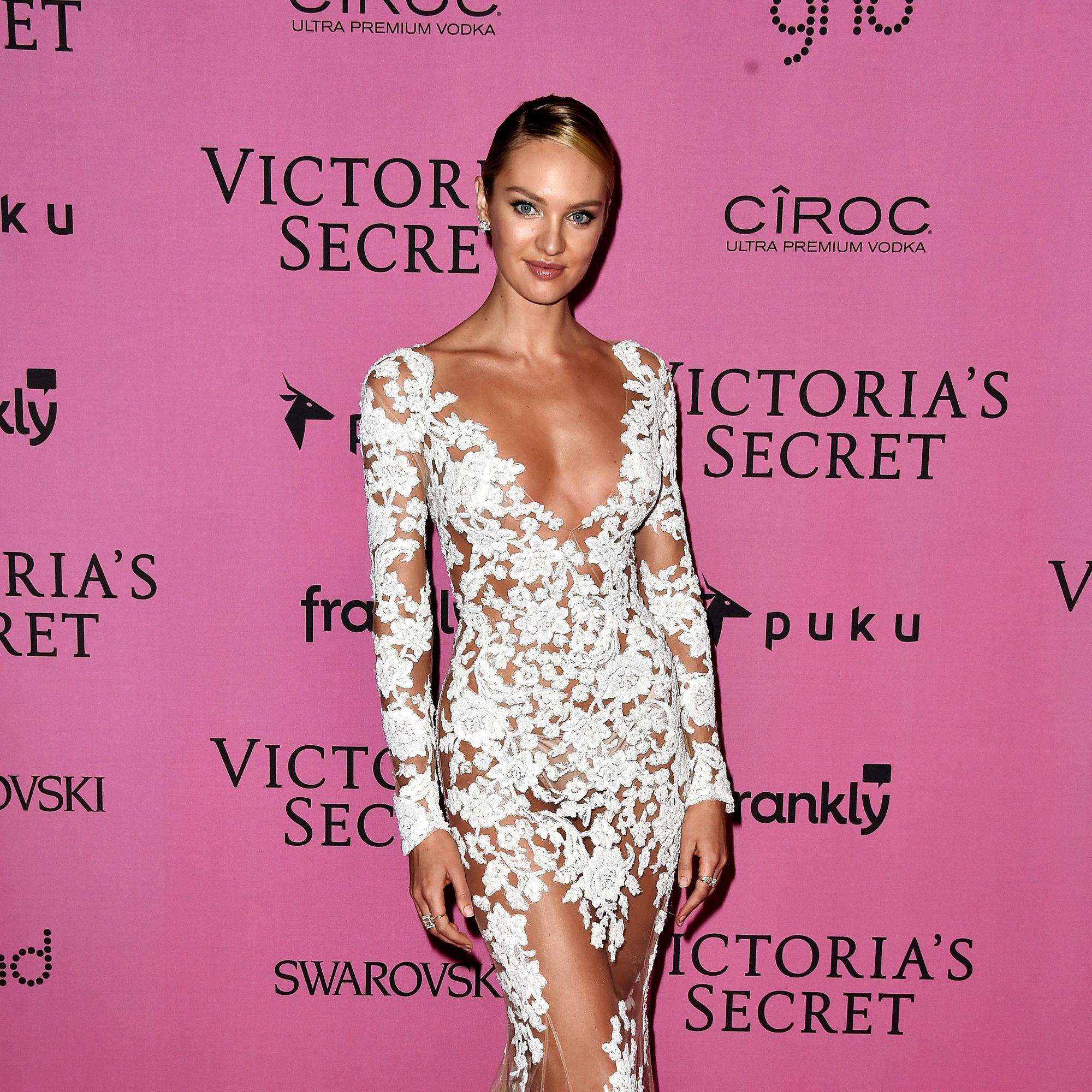 LONDON, ENGLAND - DECEMBER 02:  Model Candice Swanepoel attends the after party for the annual Victoria's Secret fashion show at Earls Court on December 2, 2014 in London, England.  (Photo by Pascal Le Segretain/Getty Images)