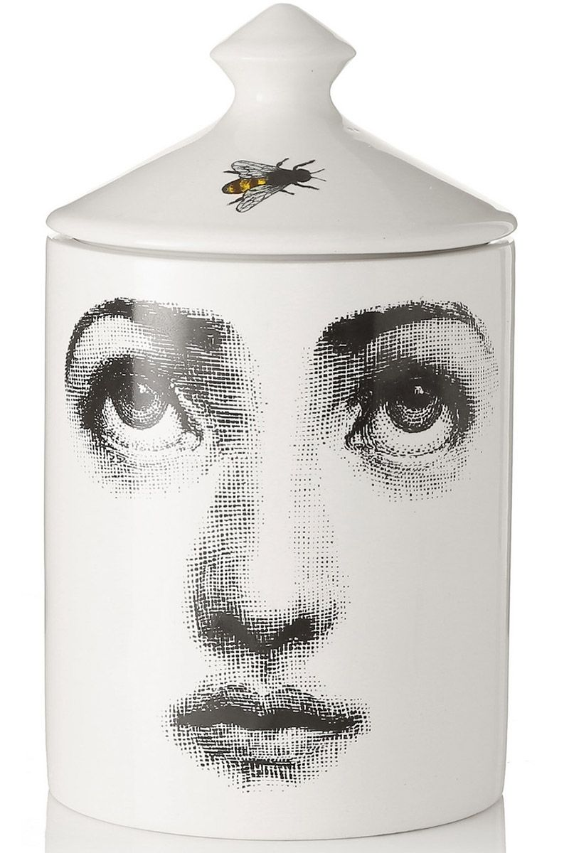 "<p>This candle makes a great gift for the holiday season. </p><p><em>Fornasetti candle, $175, <a href=""http://www.net-a-porter.com/us/en/product/551659/Fornasetti/l-ape-thyme-cedarwood-and-lavender-scented-candle"" target=""_blank"">net-a-porter.com</a>.</em></p>"