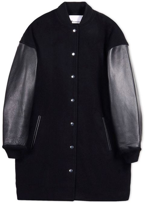 "<p><strong>T by Alexander Wang</strong> jacket, $1,050, <a href=""https://shop.harpersbazaar.com/designers/t/t-by-alexander-wang/t-by-alexander-wang-jacket-6272.html"" target=""_blank"">shopBAZAAR.com</a>.</p>"