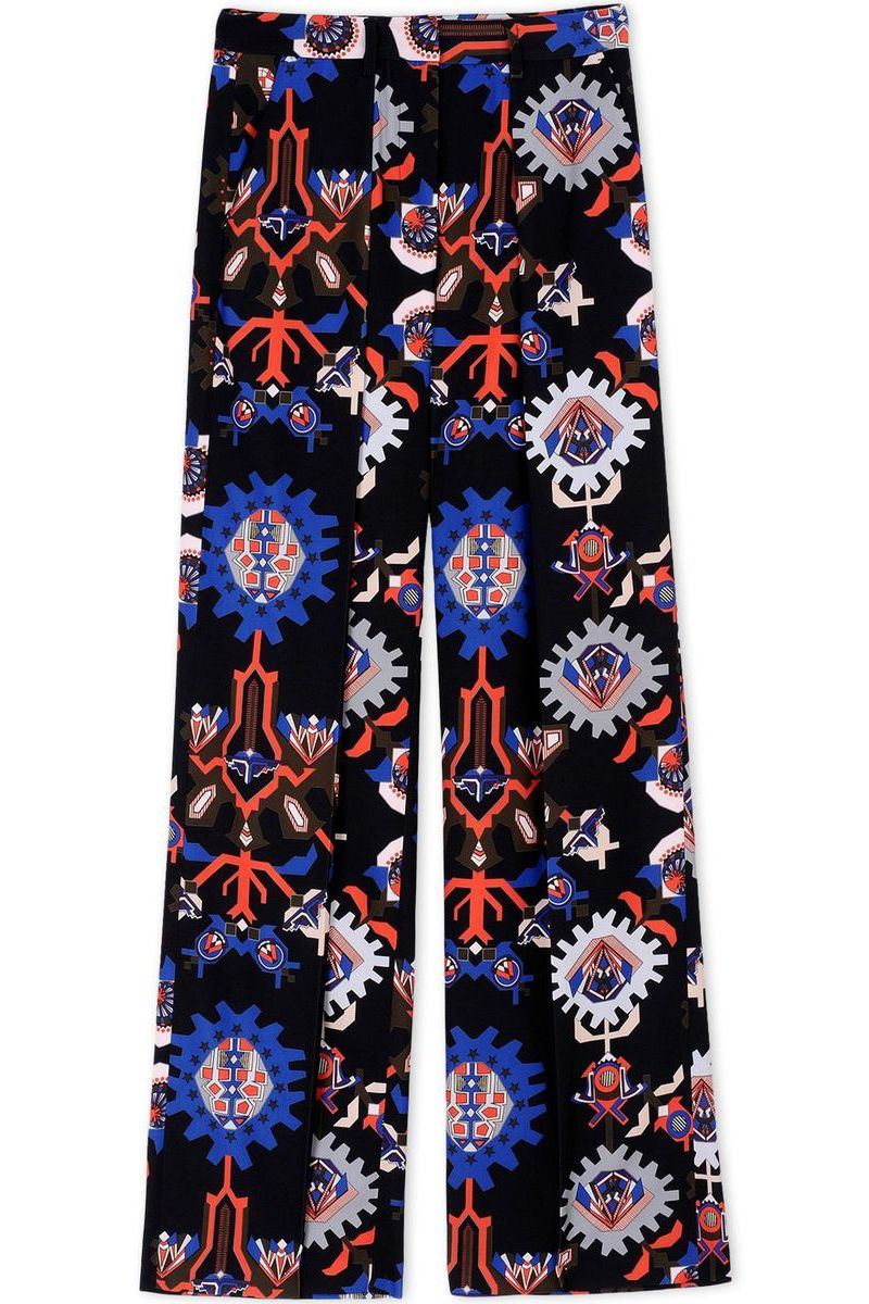 "<p> <strong>MSGM </strong>pants, $375, <strong><a href=""https://shop.harpersbazaar.com/designers/m/msgm/black-printed-wide-leg-pants-5193.html"" target=""_blank"">shopBAZAAR.com</a></strong>.  </p>"