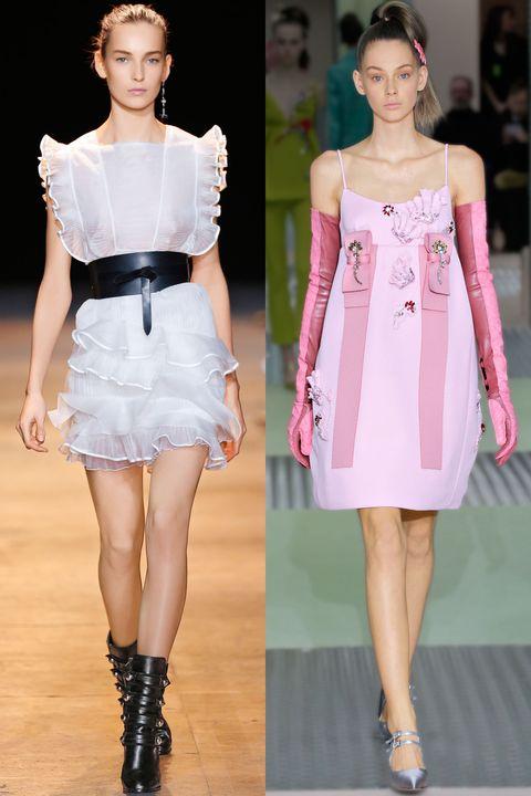 Clothing, Sleeve, Shoulder, Dress, Joint, Style, Fashion model, Waist, One-piece garment, Beauty,