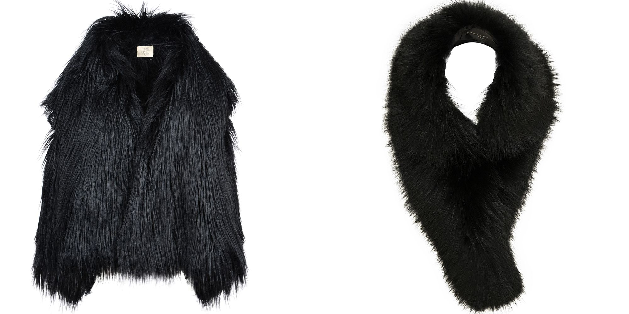 "<p><em>Stella McCartney faux fur stole, $2,770, <a href=""http://www.stellamccartney.com/us/stella-mccartney/long_cod41577586tu.html"">stellamccartney.com</a>; Barbara Bui stole, $1,022, <a href=""http://www.fwrd.com/product-barbara-bui-fur-stole-in-black/BARB-WV1/"">fwrd.com</a>.</em></p>"