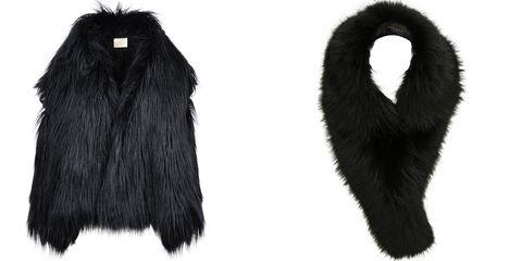"""<p><em>Stella McCartney faux fur stole, $2,770, <a href=""""http://www.stellamccartney.com/us/stella-mccartney/long_cod41577586tu.html"""">stellamccartney.com</a>; Barbara Bui stole, $1,022, <a href=""""http://www.fwrd.com/product-barbara-bui-fur-stole-in-black/BARB-WV1/"""">fwrd.com</a>.</em></p>"""