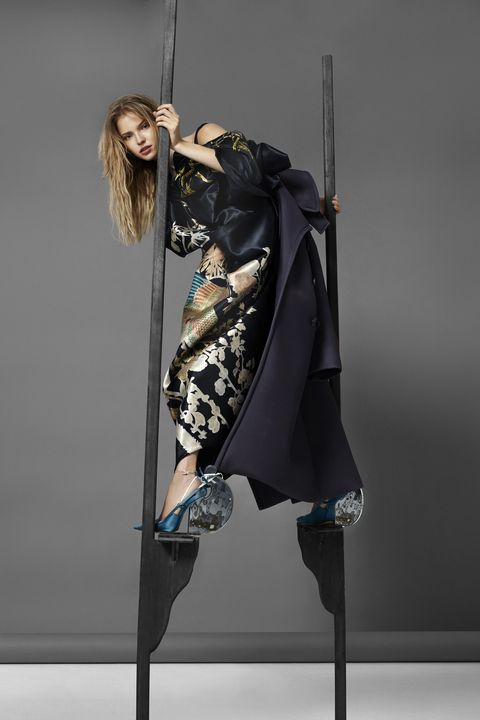 <p><strong>Maison Margiela Artisanal</strong> designed by John Galliano coat, dress and shoes, prices upon request.</p>