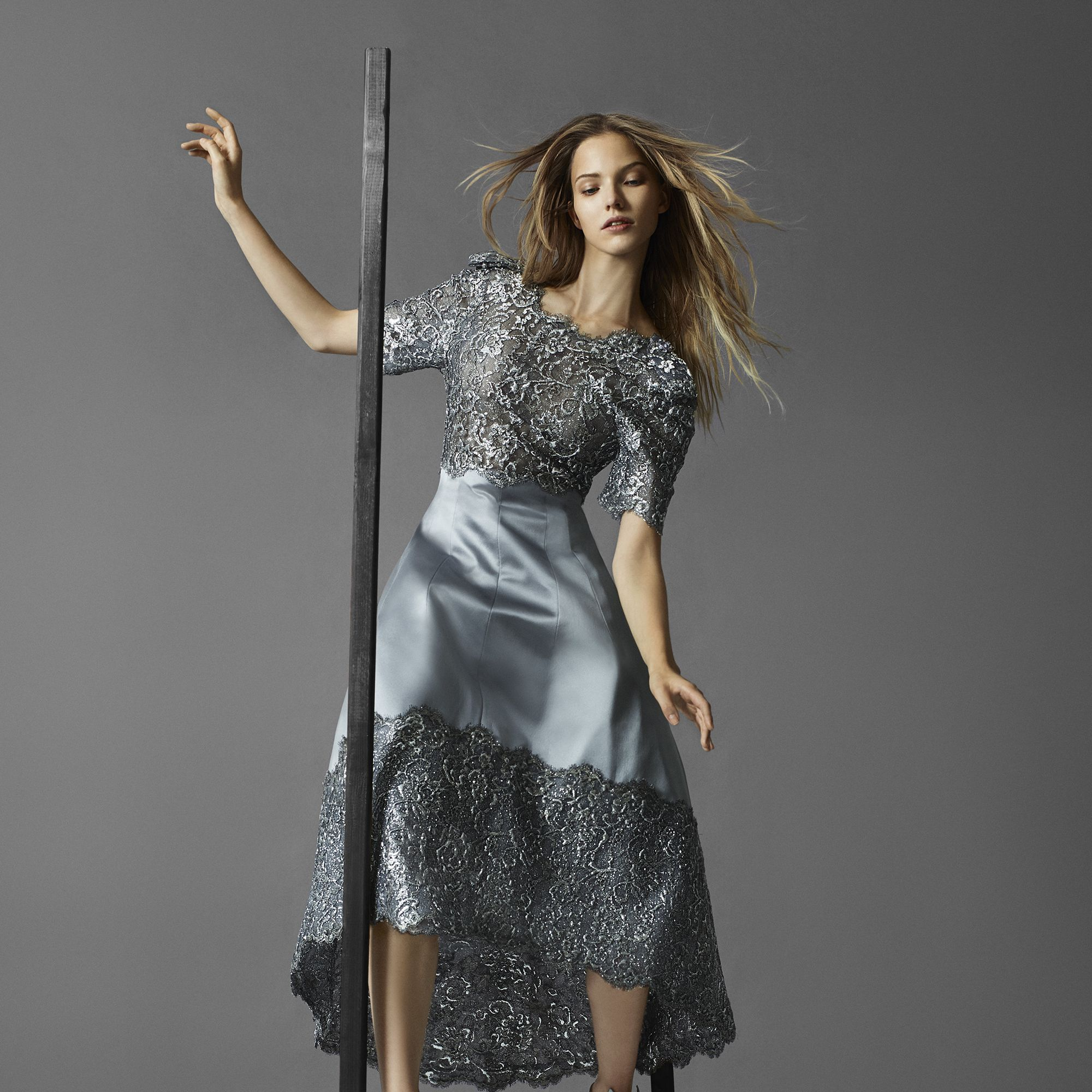 <p><strong>Chanel Haute Couture </strong>dress and shoes, prices upon request, 800-550-0005.</p>