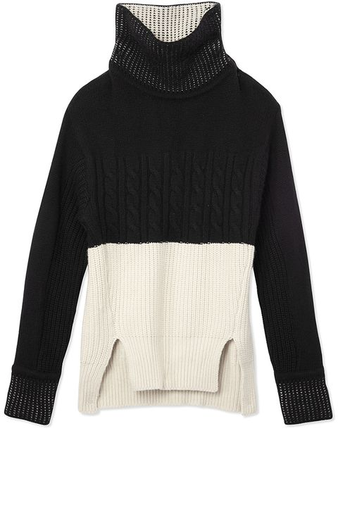 "<p><strong>Prabal Gurung</strong> turtleneck, $1,575, <strong><a href=""https://shop.harpersbazaar.com/designers/prabal-gurung/l-s-cashmere-turtleneck-sweater/"" target=""_blank"">shopBAZAAR.com</a></strong>. </p>"