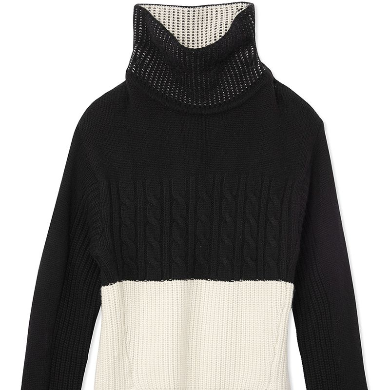 """<p><strong>Prabal Gurung</strong> turtleneck, $1,575, <strong><a href=""""https://shop.harpersbazaar.com/designers/prabal-gurung/l-s-cashmere-turtleneck-sweater/"""" target=""""_blank"""">shopBAZAAR.com</a></strong>. </p>"""