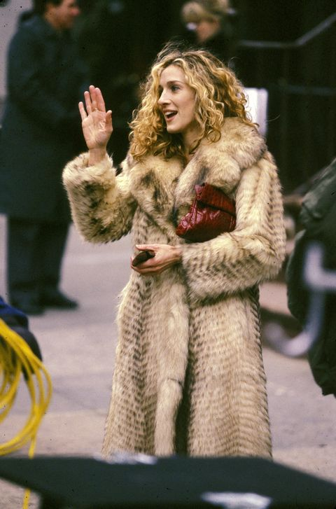 <p>As her fictional alter ego Carrie Bradshaw, Sarah Jessica Parker prefers vintage vibes.</p>
