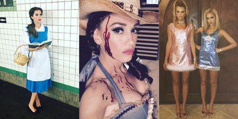 The Best Celebrity Halloween Costumes of 2015