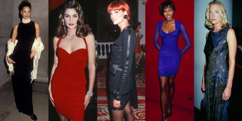 90's Supermodels on George Michael Freedom Video