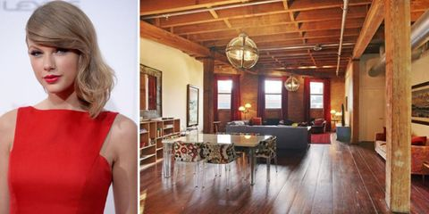 Aside From A Few Instagram Posts Taylor Swift S New York City Apartment Has Remained Mystery Until Now Purchased The 20 Million Tribeca