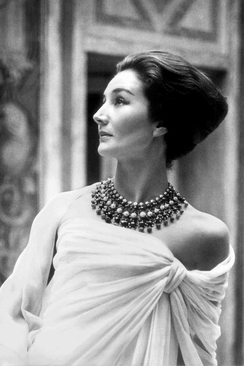 <p>In Christian Dior, 1959</p>