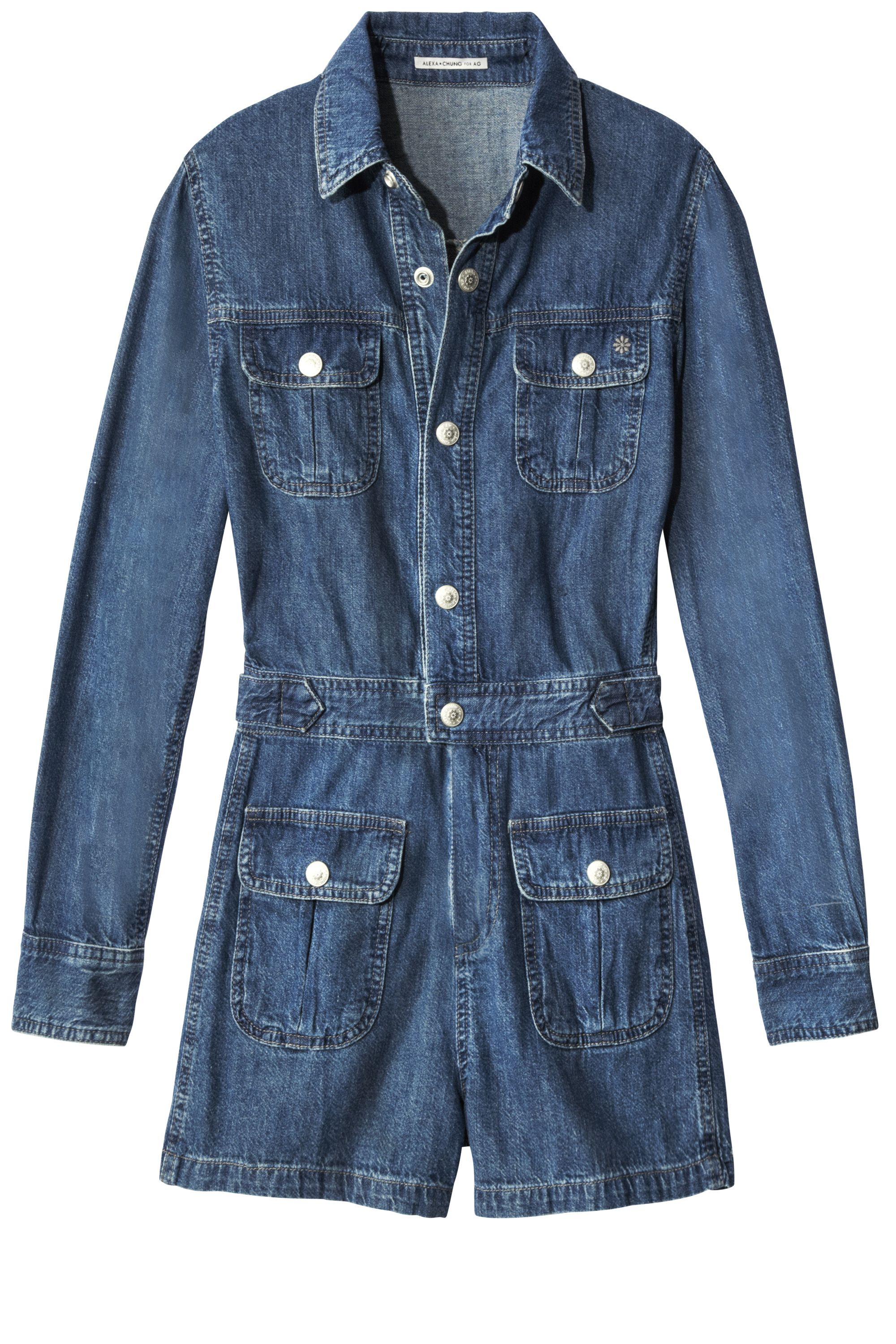 "<p><strong>Alexa Chung for AG  </strong>jumpsuit, $345, <a href=""https://shop.harpersbazaar.com/designers/a/alexa-chung-for-ag/denim-loretta-romper-4732.html"" target=""_blank"">shopBAZAAR.com</a><img src=""http://assets.hdmtools.com/images/HBZ/Shop.svg"" class=""icon shop"">.</p>"