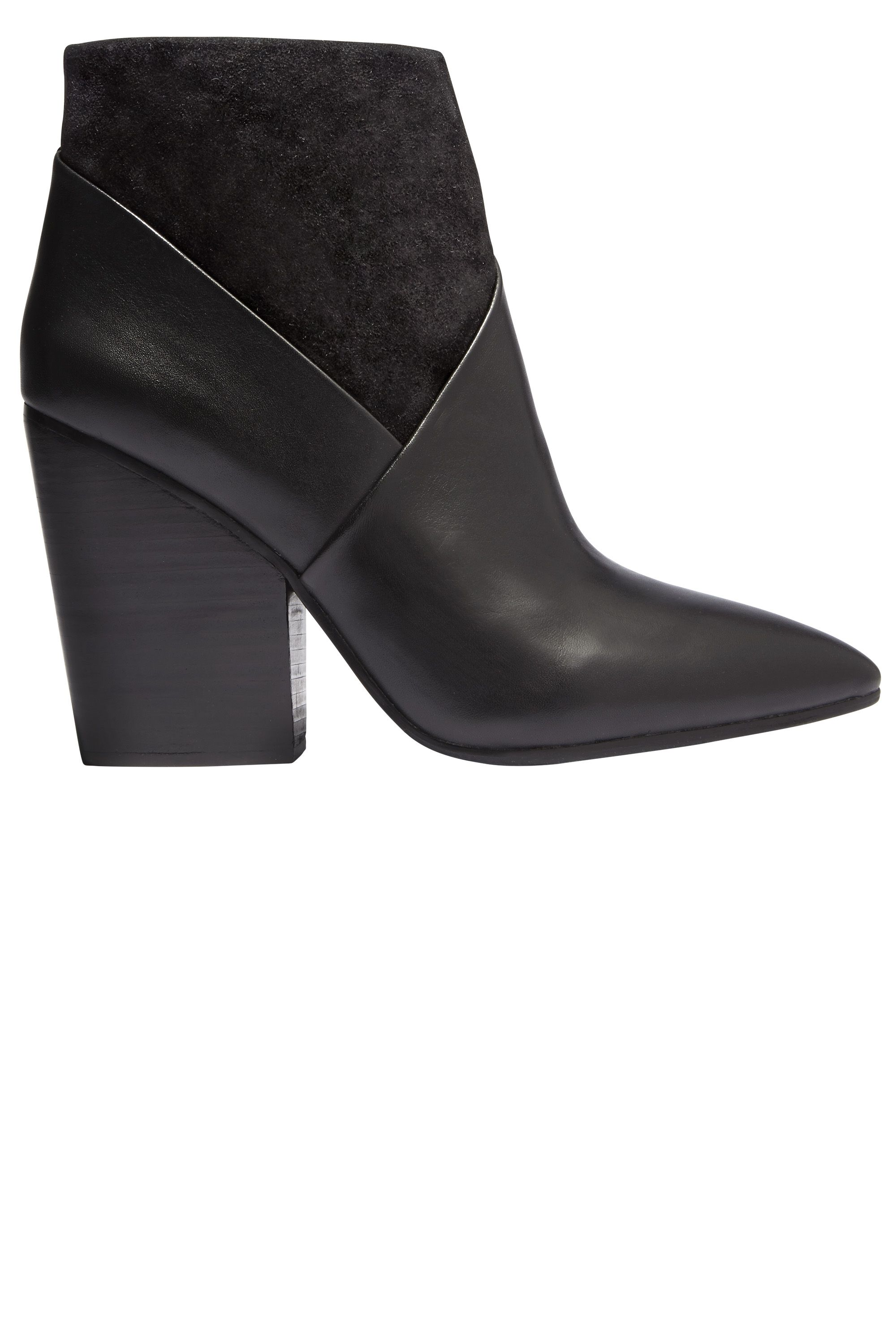 """<p><strong>Vince Camuto  </strong>booties, $169, <a href=""""http://www.vincecamuto.com/boots-booties-shoes/"""" target=""""_blank"""">vincecamuto.com</a>.</p>"""