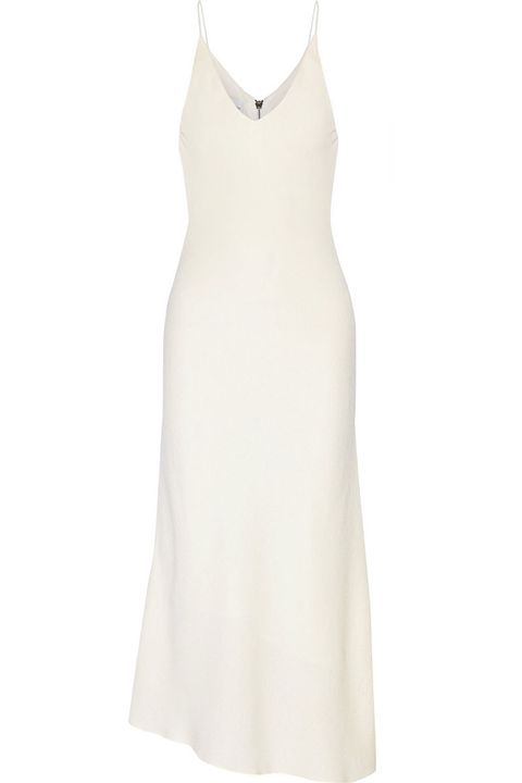"<p><strong>Narciso Rodriguez </strong>dress, $2,495, <a href=""http://www.net-a-porter.com/us/en/product/600660/Narciso_Rodriguez/textured-crepe-midi-dress"" target=""_blank"">net-a-porter.com</a>. </p>"