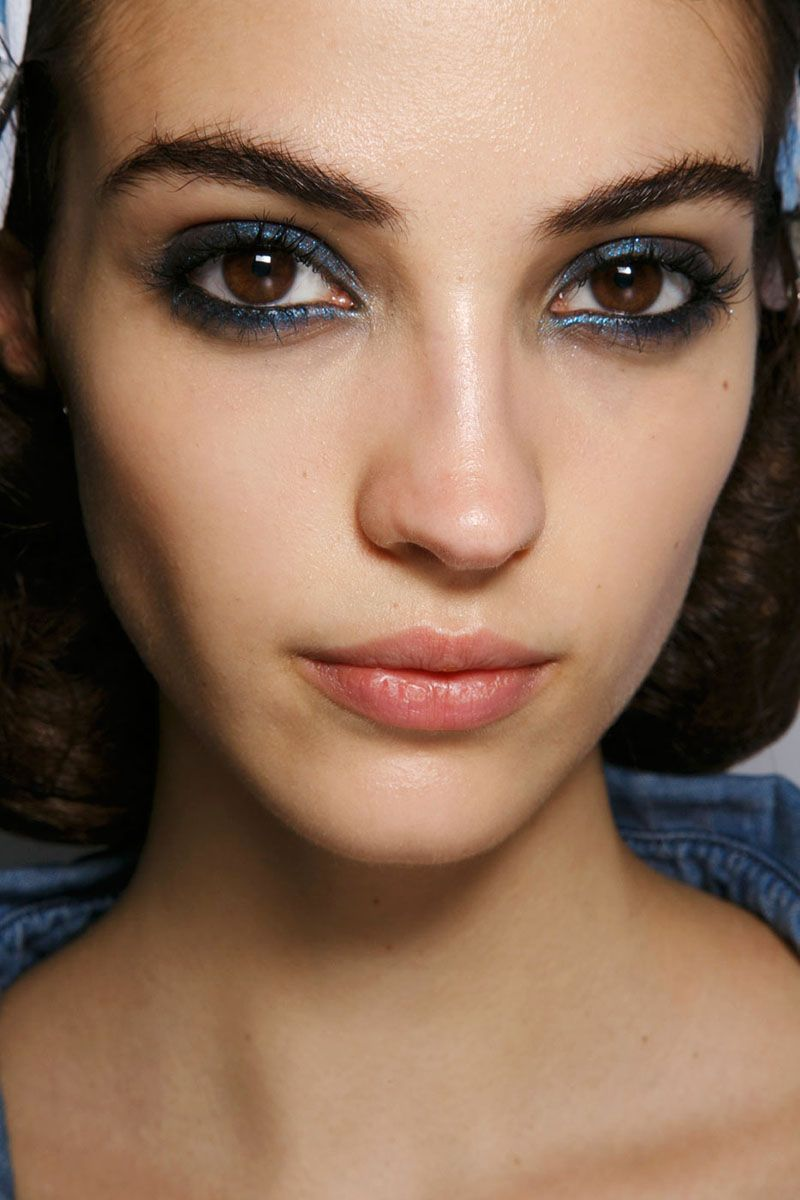 Buy Beauty spring trend blue eye makeup pictures trends