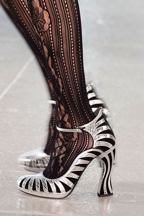 <p>Word on the markets is that the US Mint is running out of silver. Even if you can't get your hands on those coins, let your feet prove their worth. </p><p><em>Pictured: Rodarte</em></p>