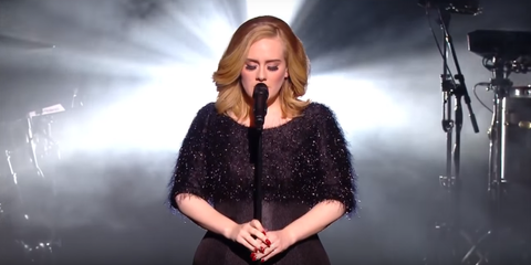 Adele Delivers Another Epic Live Performance at the NRJ Music Awards