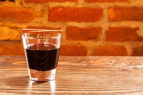 Liquid, Drink, Drinkware, Barware, Glass, Tableware, Alcoholic beverage, Amber, Brick, Distilled beverage,