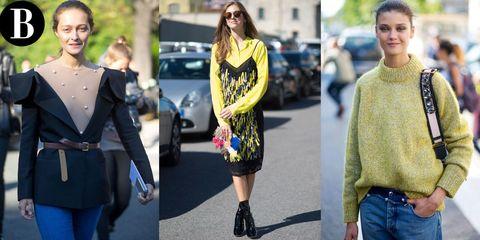 Clothing, Sleeve, Textile, Outerwear, Street fashion, Style, Denim, Fashion accessory, Fashion, Bag,