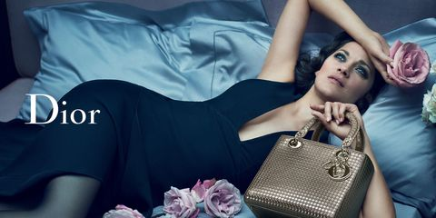 Today in Photos: Marion Cotillard Poses for Dior