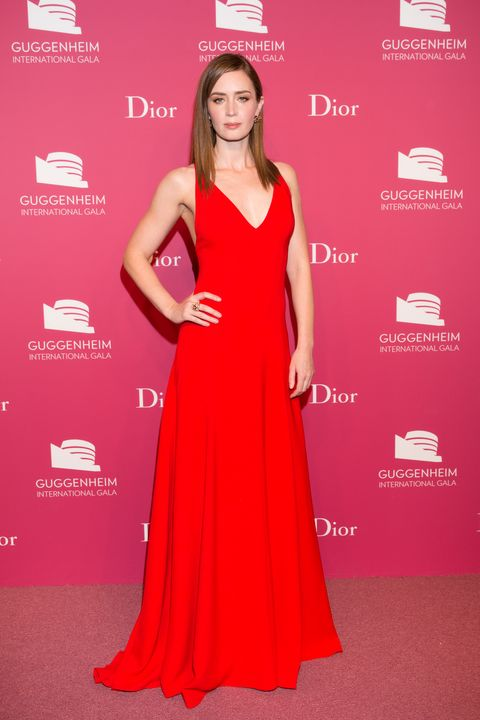 Clothing, Human, Dress, Shoulder, Flooring, Red, Premiere, Style, One-piece garment, Eyelash,