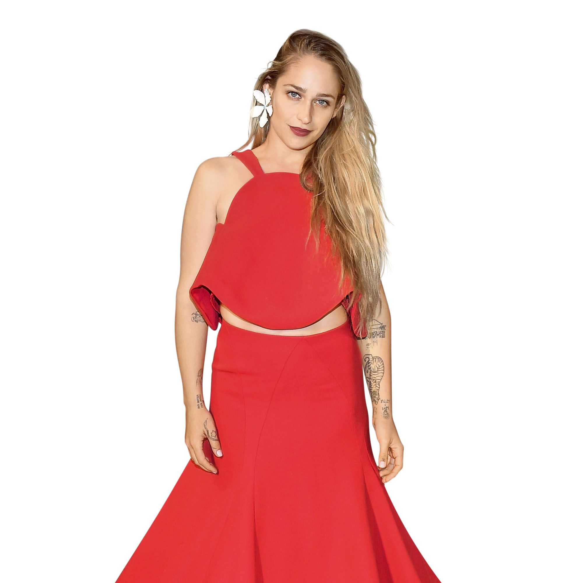 <p>Jemima has such authenticity and humor. Her joie de vivre in style and spirit is contagious. </p><p><em>Jemima Kirke in Rosie Assoulin.</em><br></p>
