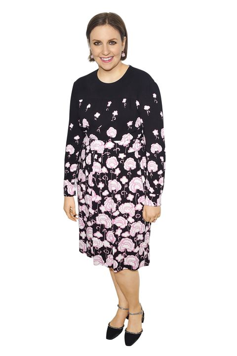 <p>Lena is everything you hope she will be and then some. She is profoundly generous with her mind, and thank goodness for that. You can tell she's always having fun in her clothes. </p><p><em>Lena Dunham in Prada. </em><br></p>