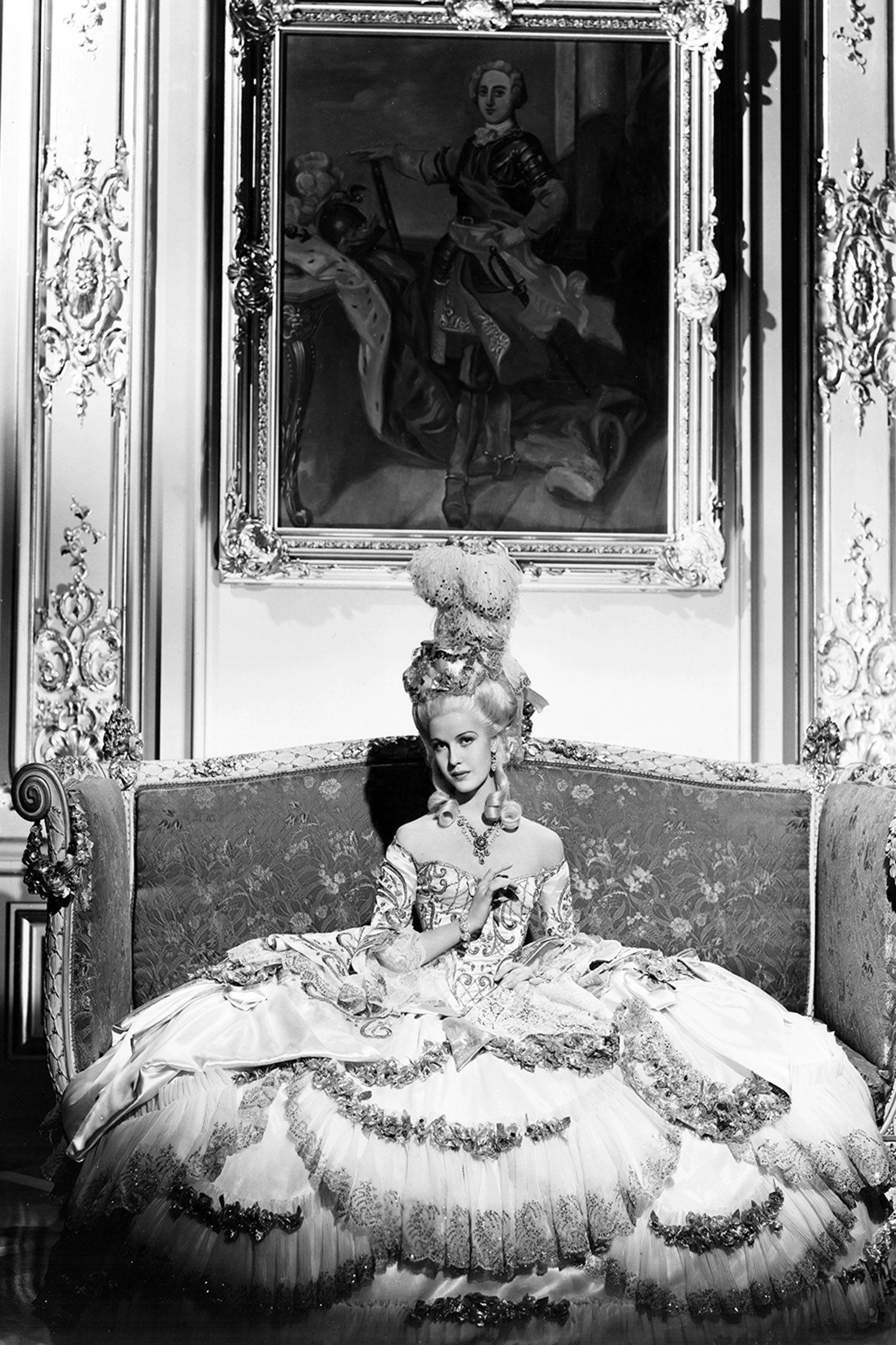 <p>Anita Louise in <em>Madam Du Barry</em>, 1934</p>
