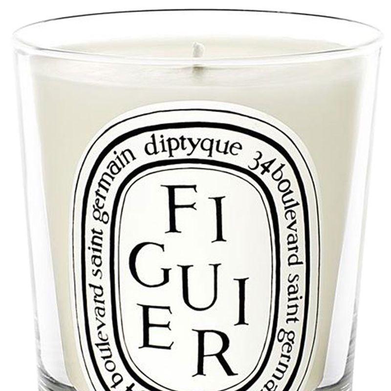 "<p><strong>Diptyque</strong> candle, $60, <a href=""https://shop.harpersbazaar.com/designers/d/diptyque/figuier-candle-6618.htmlv"" target=""_blank"">shopBAZAAR.com</a>.</p>"