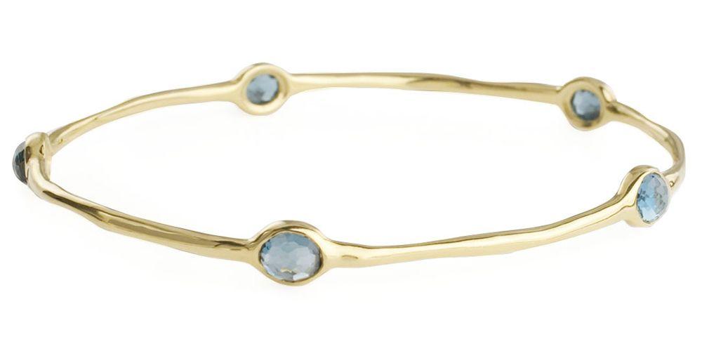 "<p><strong>Ippolita</strong> bracelet, $2,295, <a href=""http://www.bergdorfgoodman.com/Ippolita-Five-Stone-Bangle-London-Blue-Topaz-topaz/prod50690032___/p.prod"" target=""_blank"">bergdorfgoodman.com</a>.</p>"