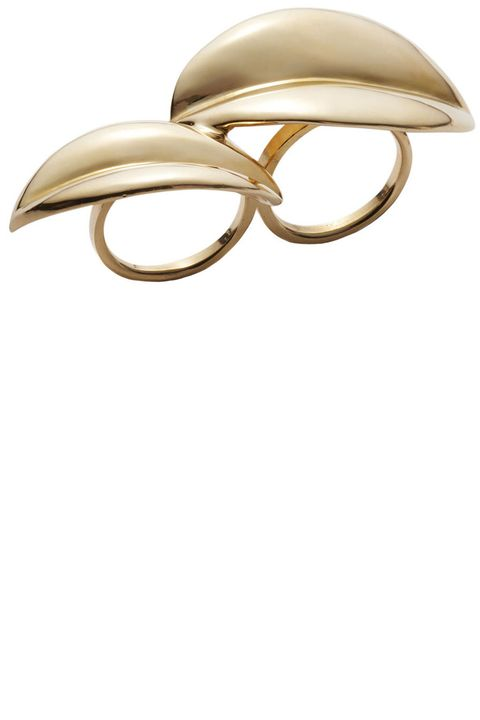 "<p><strong>Jill Heller </strong>ring, $3,975, <a href=""https://shop.harpersbazaar.com/designers/j/jill-heller/double-gold-leaf-ring-6692.html"" target=""_blank""><strong>shopBAZAAR.com</strong></a><a href=""https://shop.harpersbazaar.com/designers/j/jill-heller/double-gold-leaf-ring-6692.html""></a>.</p>"
