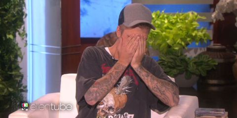 Justin Bieber Can't Stop Blushing Talking About His Maybe-Girlfriend