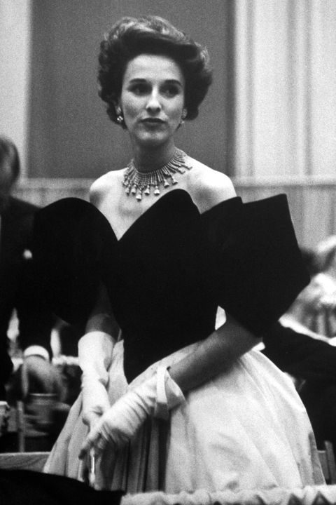 At the height of her fame in the '50s, socialite Babe Paley inspired scores of women with her approach to mixing high and low fashion. An iconic image of her with a scarf tied around her handbag sparked a trend that remains popular today. She dressed purely for own pleasure, embracing Fulco di Verdura jewels with luxe sable coats and chic, cheap costume jewelry.