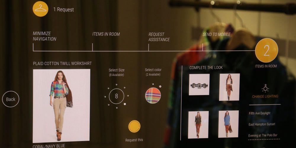 Ralph Lauren Launches Interactive Ing Rooms Smart