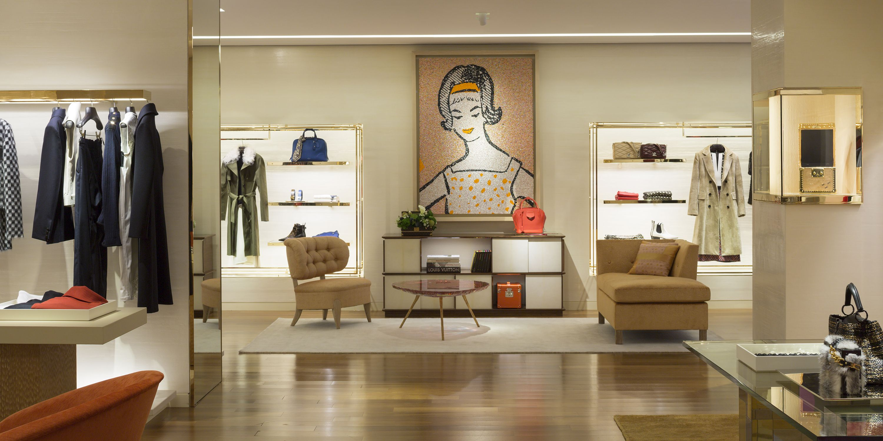Inside Louis Vuittons New 5th Ave Maison The Home Of Vuitton In Manhattan