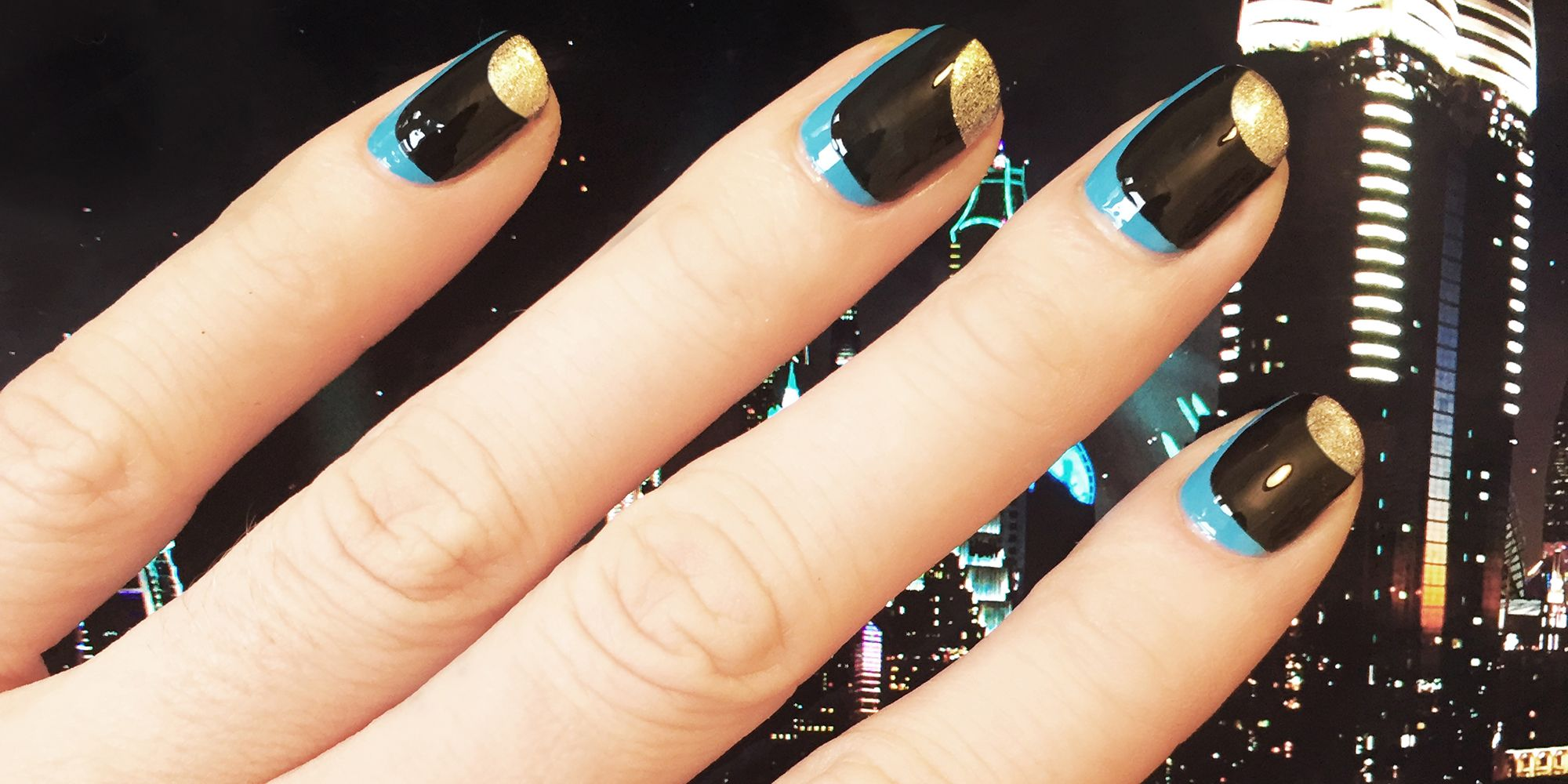 Full color nail art - Nail Art How To Dubai Meets Stella Mccartney Spring 2016 Spring 2016 Nail Ideas