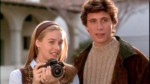 Alicia Silverstone and Jeremy Sisto in Clueless