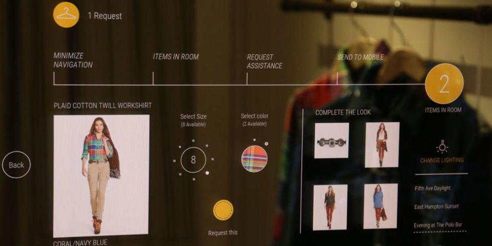Ralph Smart Lauren Fitting Interactive Launches Rooms thrCdxQs