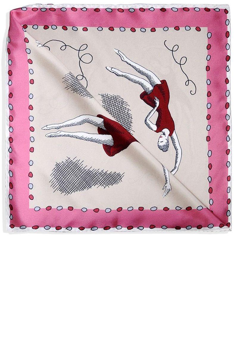 """<p><strong></strong><strong>Olympia Le Tan</strong> scarf, $258, <strong><a href=""""https://shop.harpersbazaar.com/designers/o/olympia-le-tan/square-scarf-6740.html"""" target=""""_blank"""">shopBAZAAR.com</a></strong>.</p>"""