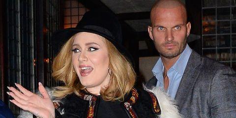 Adele's Hot Bodyguard Is Causing an Internet Meltdown